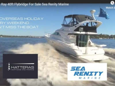 Sea Ray 400 Sedan Bridge Owned by perfectionist Mechanical Engineer.