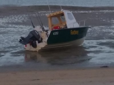 Boden 5.7m Walkaround Cab Sea Boat