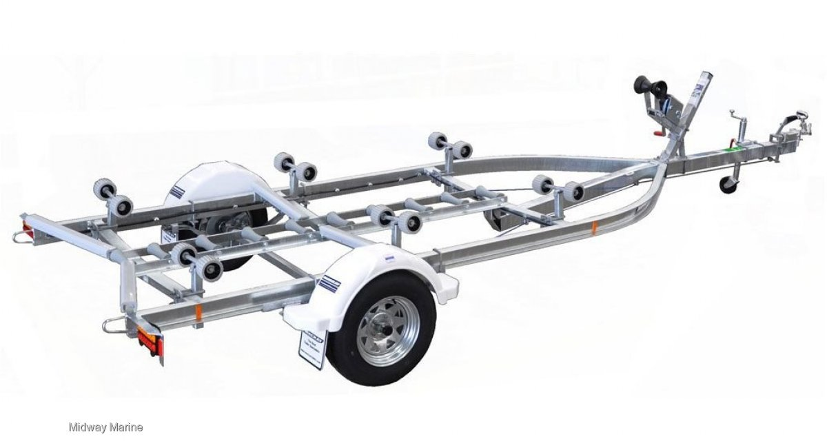 MACKAY MLJ4750 C CHANNEL BOAT TRAILER For Sale | Midway Marine