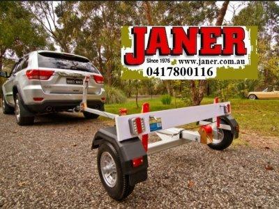 Mangrove Jack Motorsailer 38 kilogram foldup trailer