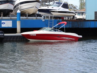Sea Ray 200 Select bowrider including NEW dual axle trailer