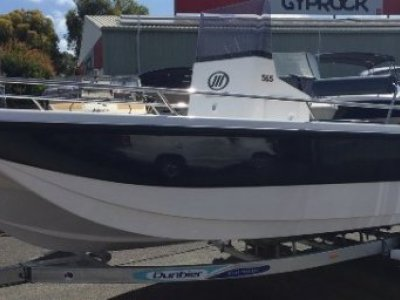Ocean Whaler 565 Tri Hull Centre Console - New - Hull Only