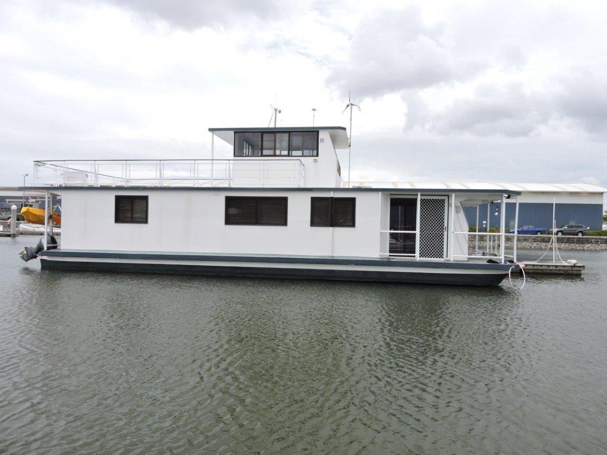 Mc Marine 60ft Houseboat - Online Auction