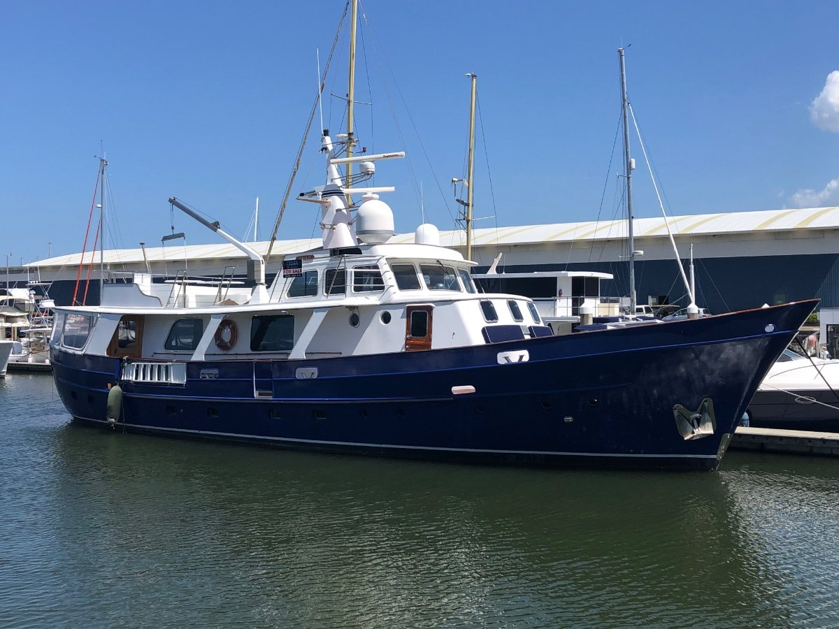 Feadship Design Pilot House Cruiser Vessel in full QLD Survey now reduced by $100k
