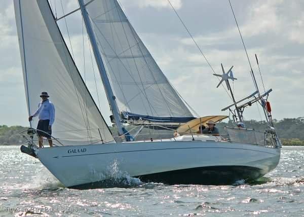 Van De Stadt Excalibur 36 monohull sailboat
