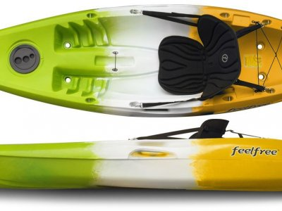 Move kayak by Feel Free