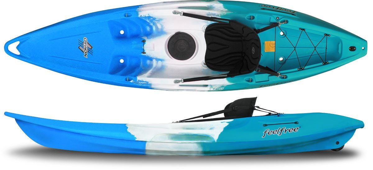 Nomad single person kayak by Feel Free