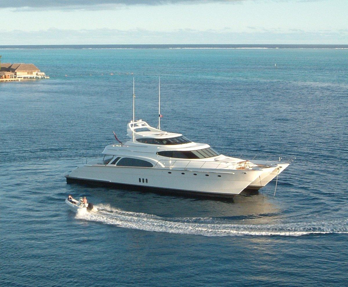 """Pachoud PMY32 Pachoud 86 MY """"AZURE II"""" Power Catamaran"""