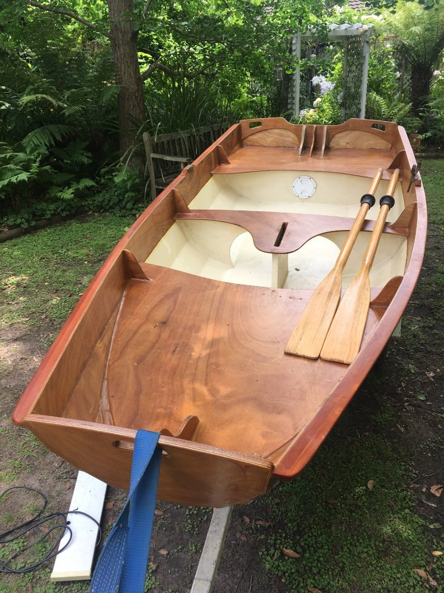 Passagemaker Classic dinghy 11.5 feet with trailer & rego