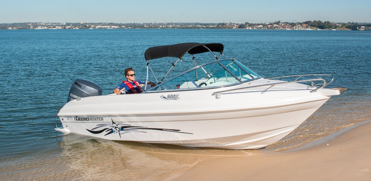 New Haines Hunter 520R BMT or hull only $19,990 hull only or $41,990