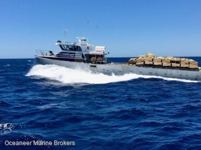 Legend Boats Aluminium cray boat