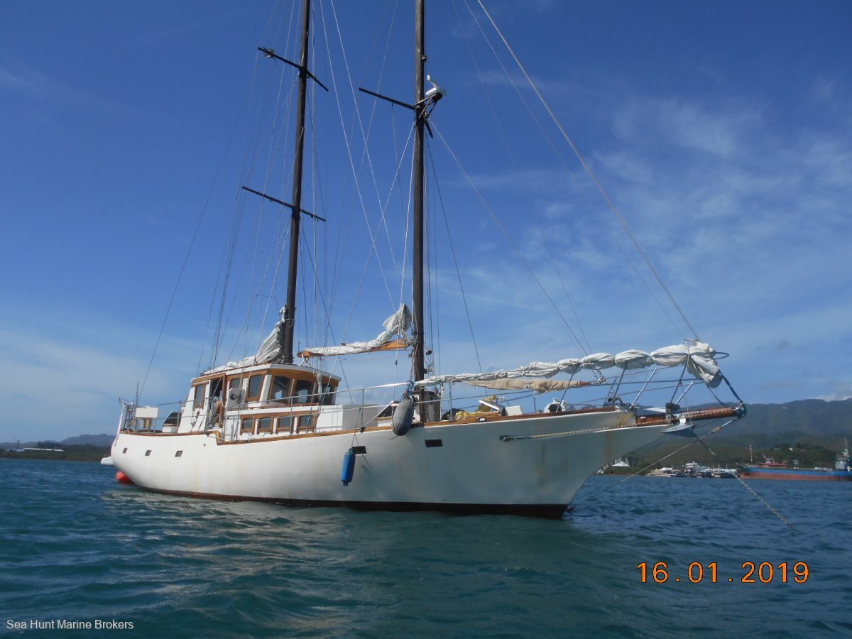 Custom 50 ft Schooner
