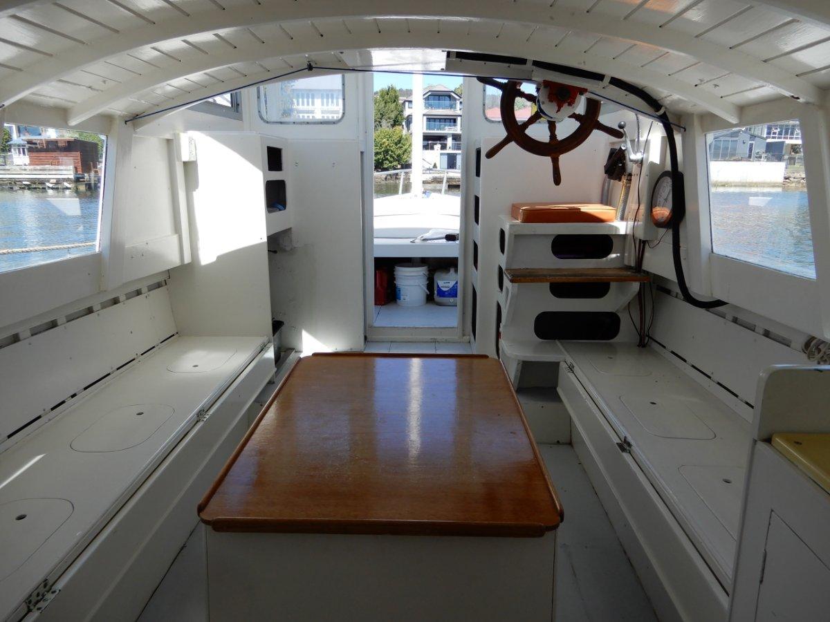 Custom Classic Pilothouse Motorsailer
