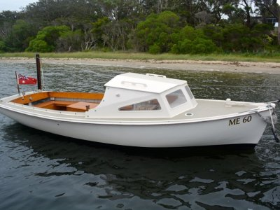 Bull Timber Day Boat 23'