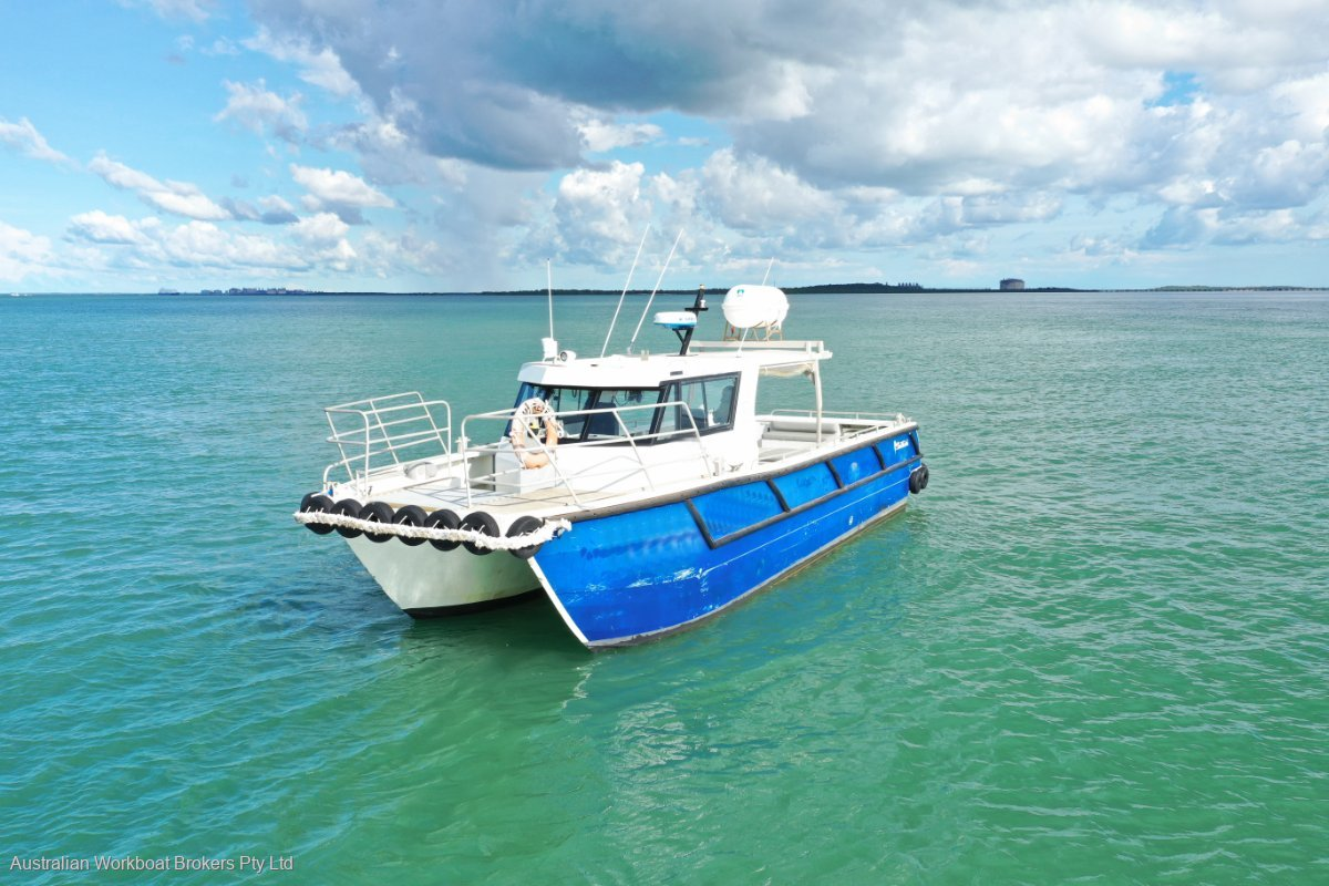 Sailfish 11.47m Twin Screw Aluminium Workboat