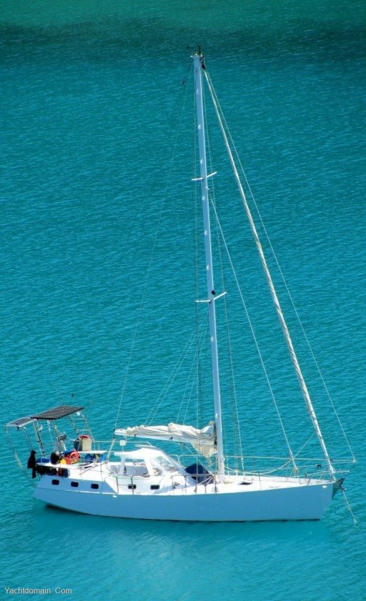 Adams 40CC:At Anchor