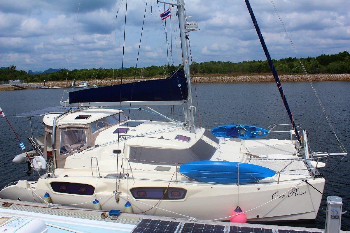 Maverick 440: Sailing Catamaran for Sale   Fibreglass/grp ...