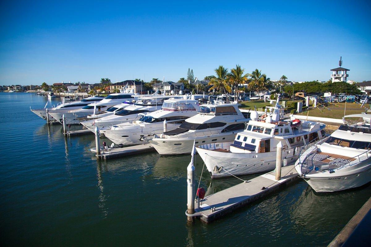 Luxury Berths available at Sovereign Islands Marina, Gold Coast