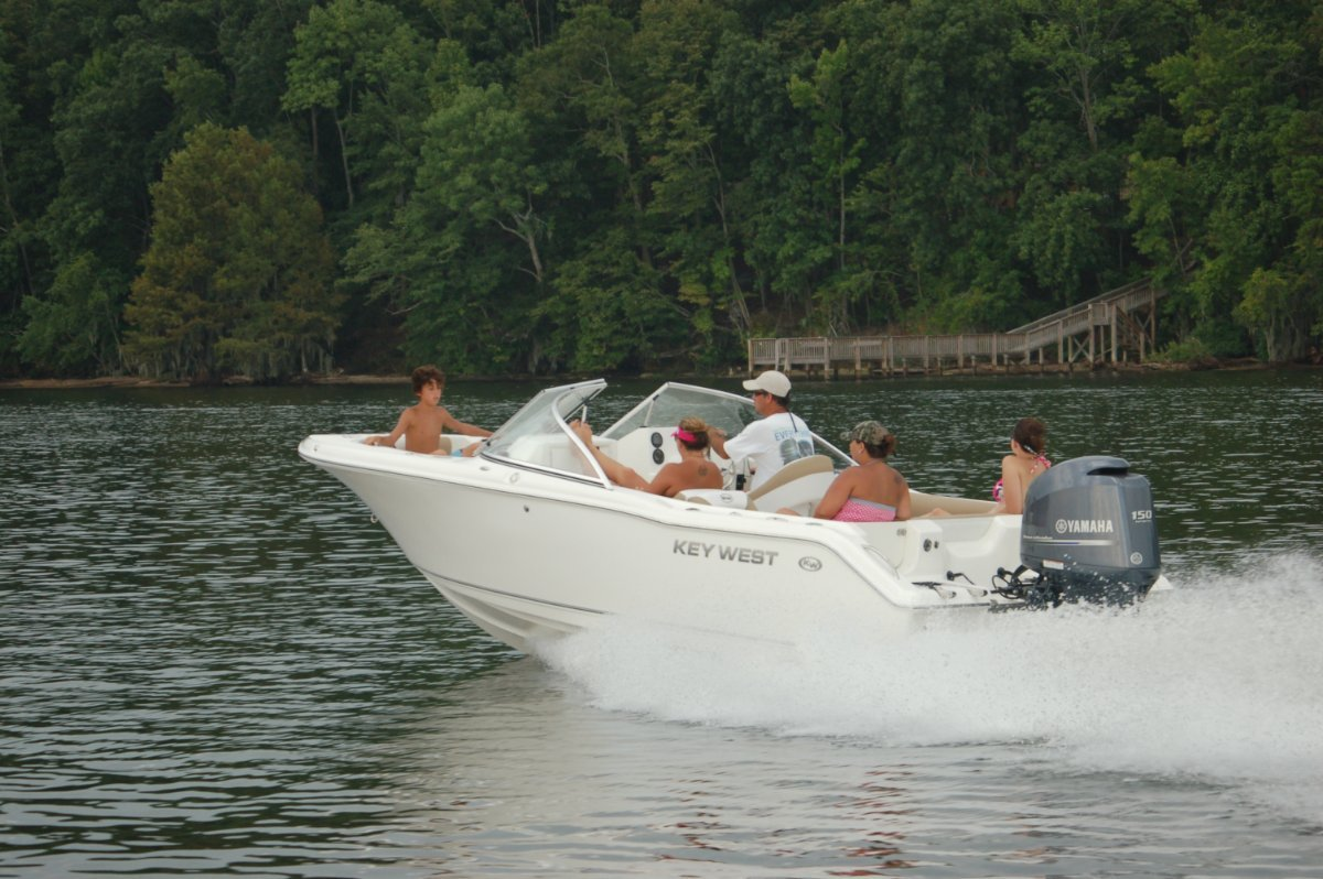 Key West 203 dual console with all standard features
