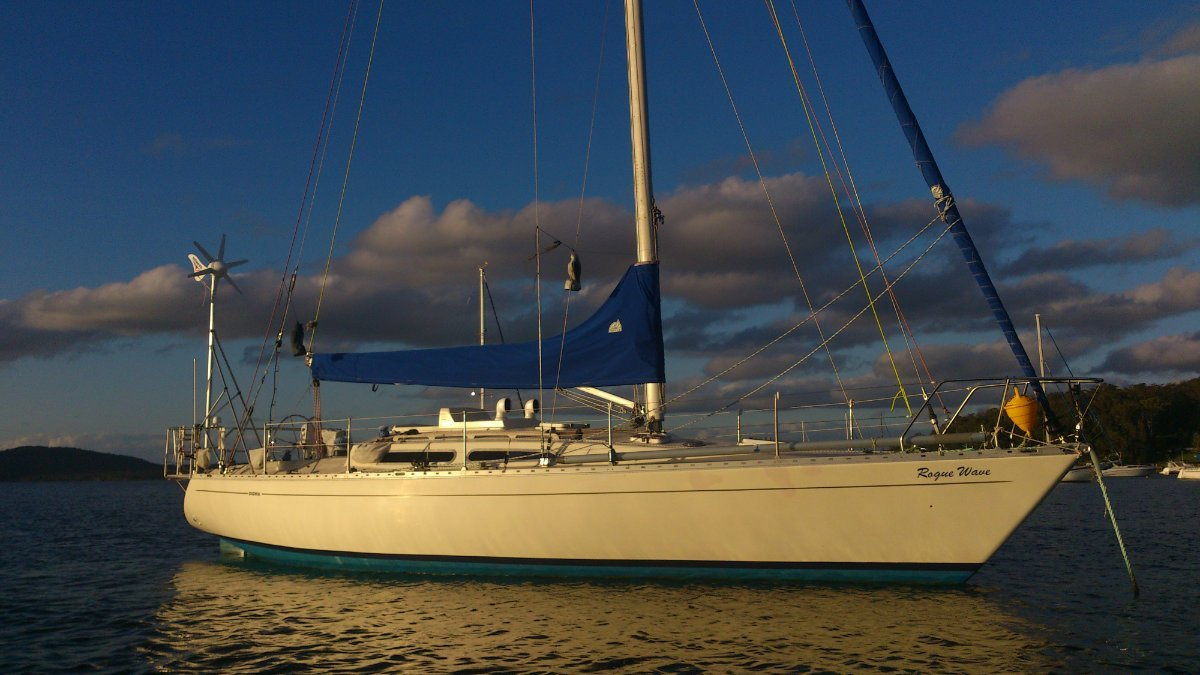 Sigma 36 FR Solid GRP hull built to Lloyd's Standard