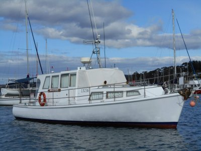 Tasmanian Timber Motor Cruiser Excellent Condition