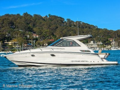 "Regal 35 Sports Coupe ""Impressive Boating"""