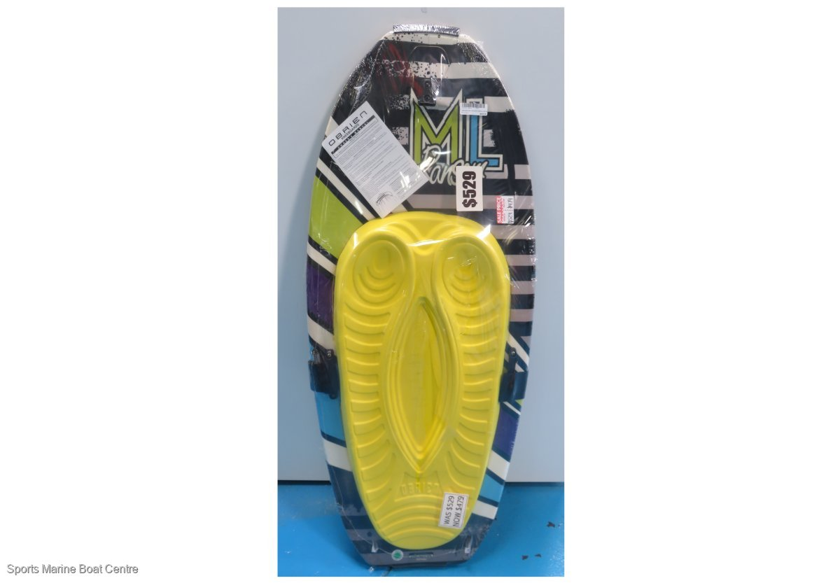 ML Ransom high performance fibreglass kneeboard