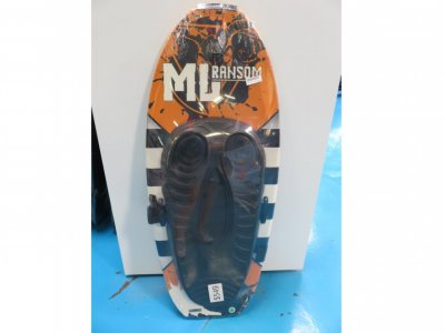 ML Ransom high performance fibreglass kneeboard 2019