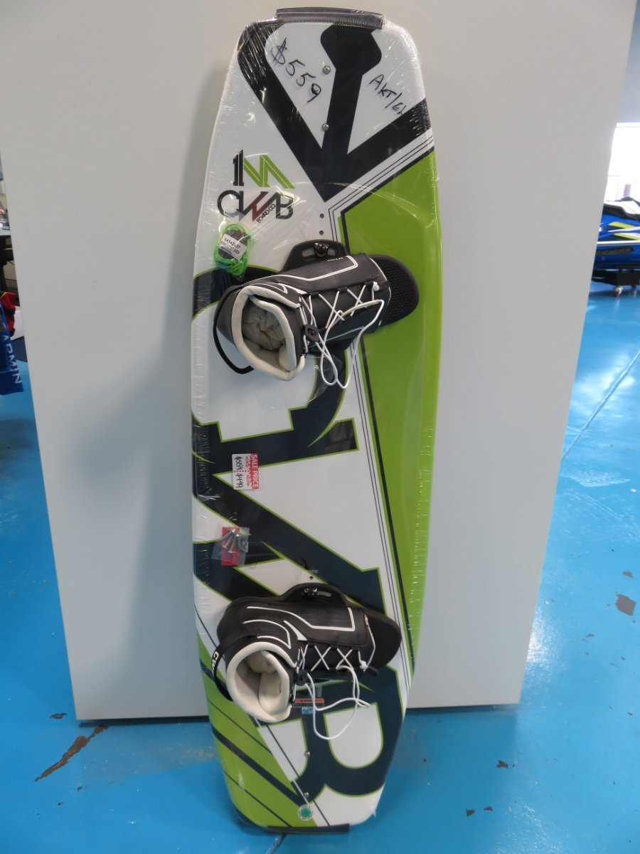 CWB Wakeboard 140 with lace up bindings
