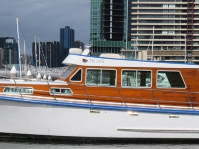 Cayzer Timber Cruiser Launched in 1980 at Queenscliff Victoria