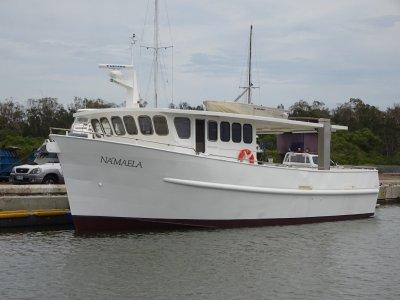 Rick James Trawler Hull Cruiser