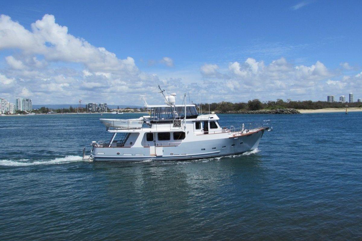 Passagemaker Long Range Displacement Flybridge Cruiser