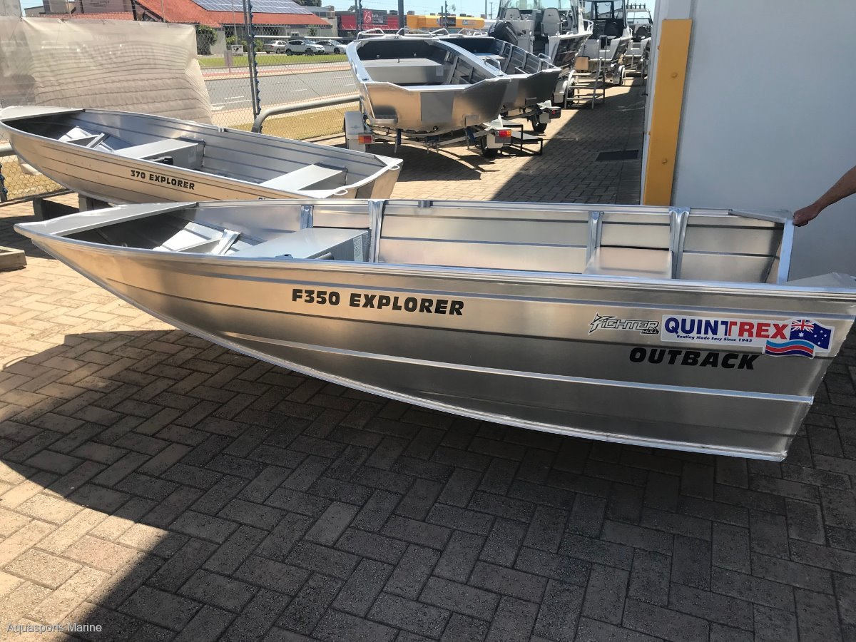 New Quintrex 350 Outback Explorer