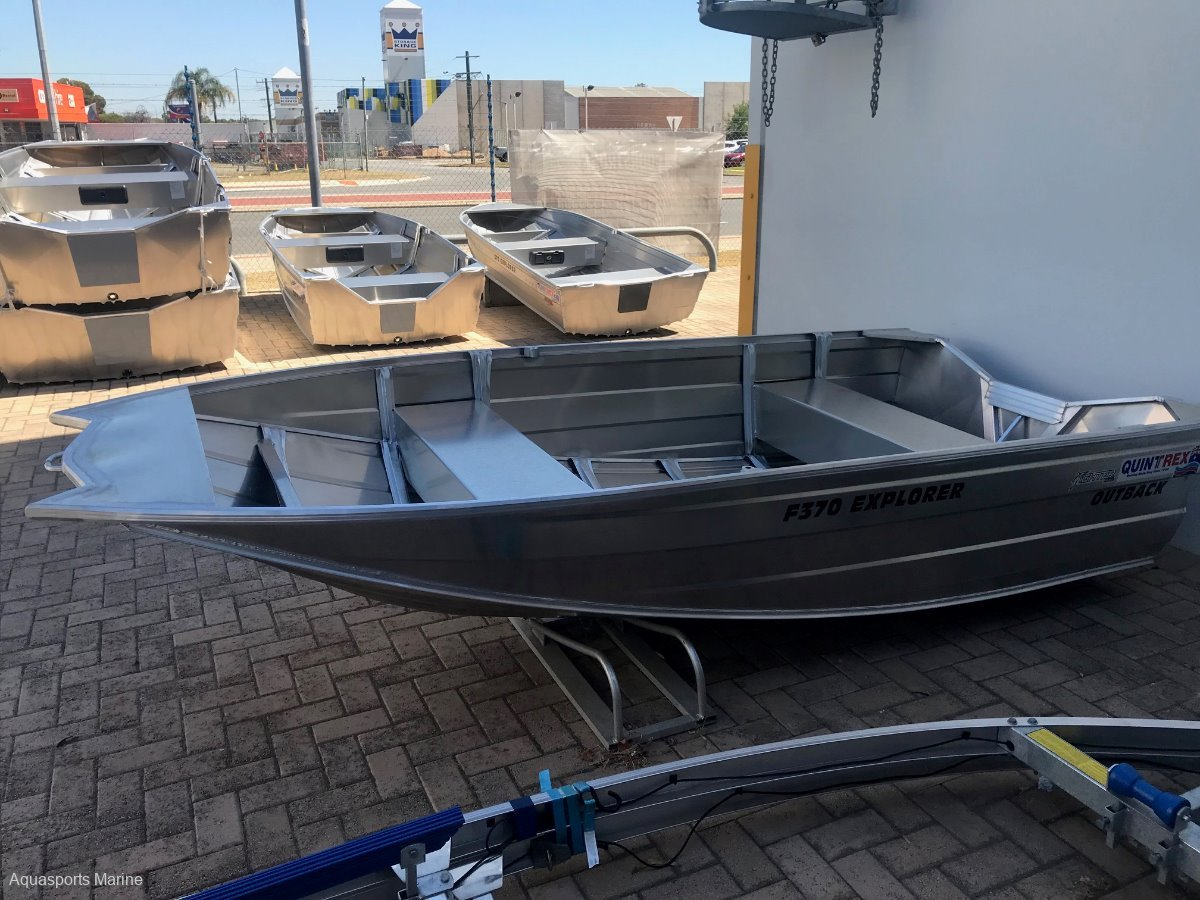 New Quintrex 370 Explorer Outback
