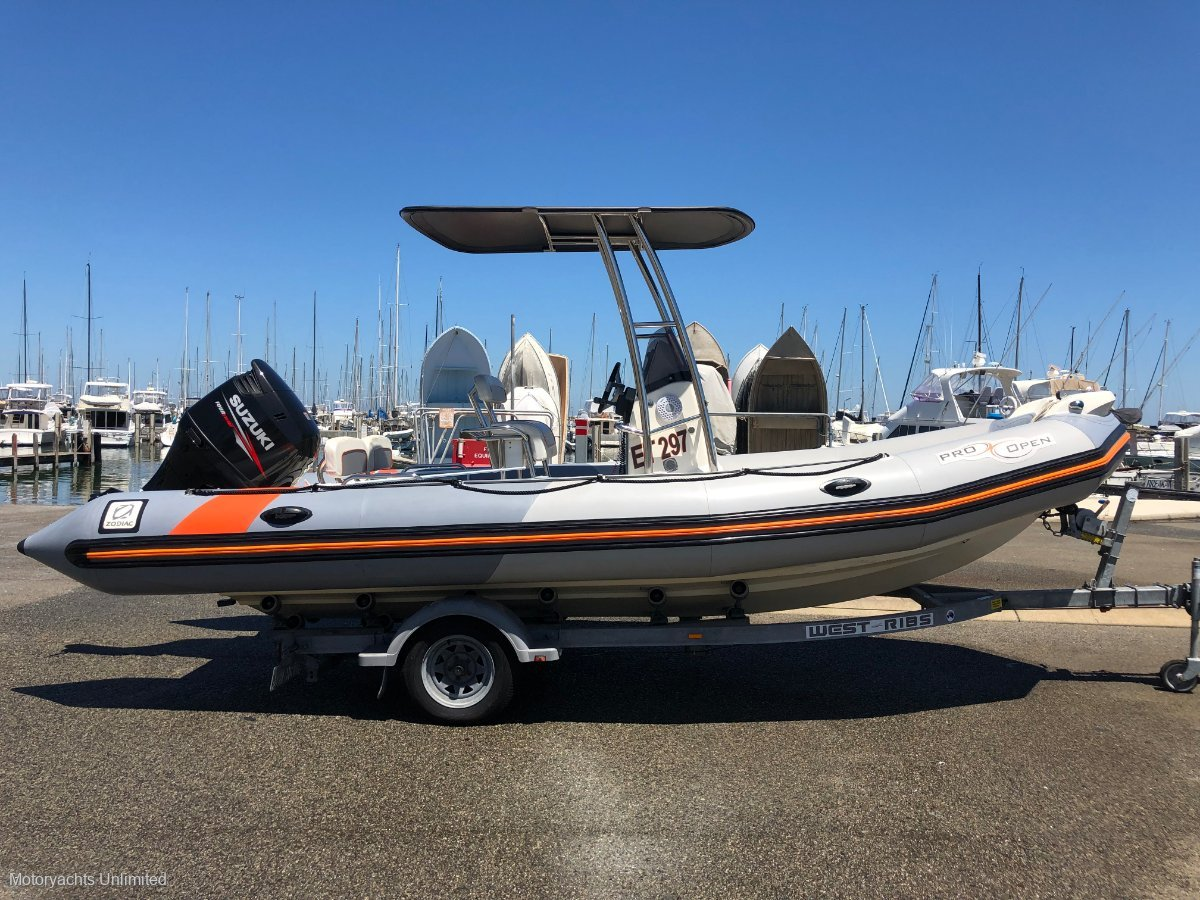 Zodiac Pro Open 650 - Perfect size as a tender or stand alone runabout