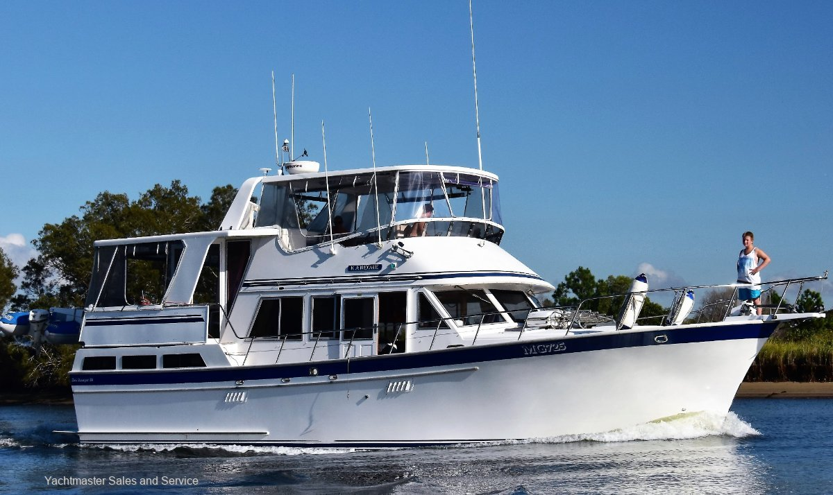 Sea Ranger 46 Flybridge Cruiser Sundeck:Cavatina