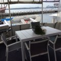 Sea Ranger 46 Flybridge Cruiser Sundeck:Aft  deck with view