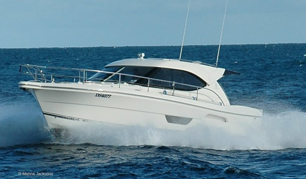 Riviera 3600 Sport Yacht Series 2 Boat Brokers of Tasmania