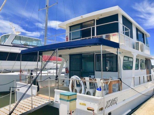 Nustar 42 Homecruiser Available to view at Gold Coast City Marina H-Arm