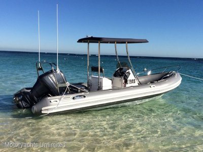 Falcon Inflatables 650 SR - One owner boat stored in boat stacker
