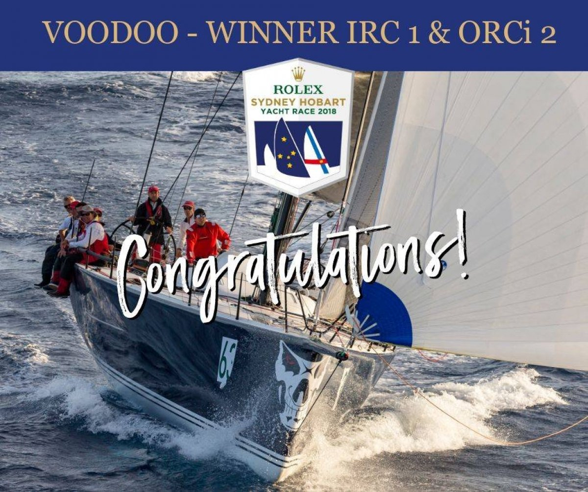 Reichel Pugh 63 Offshore IRC ORCi Winner
