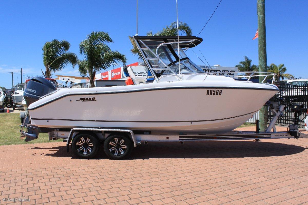 Mako 233 Walk Around (solid USA built boat!)