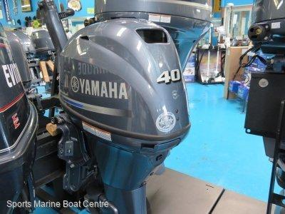 40 Yamaha Tiller