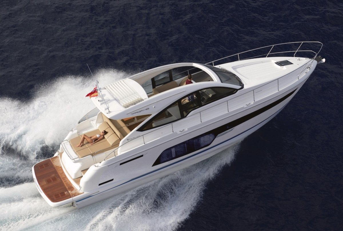 Fairline Targa 48 Open - Share with Boat Equity