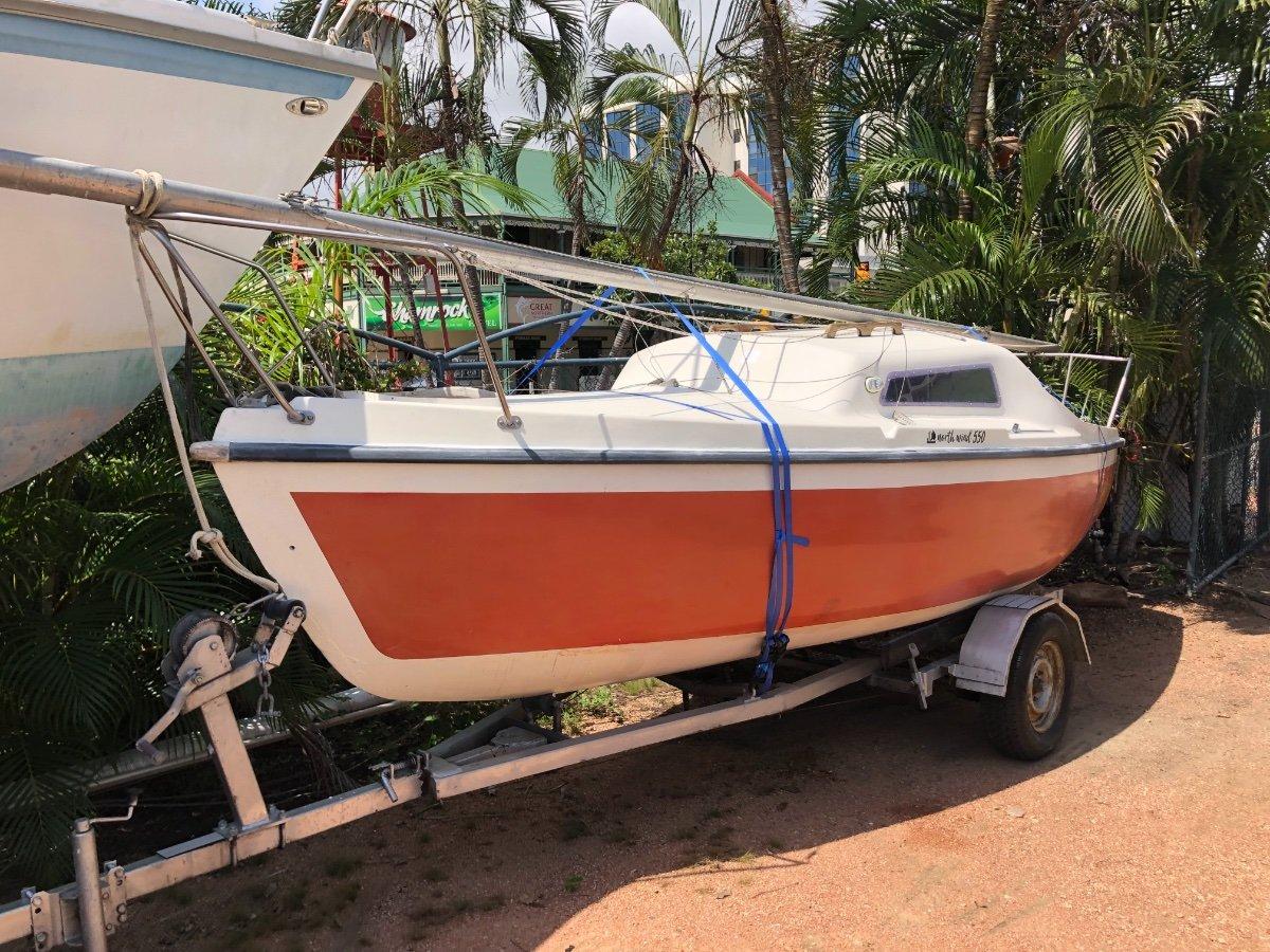 North Wind 550 Trailer Sailer On Good Trailer: Trailer Boats