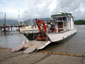 Aluminium Landing Barge