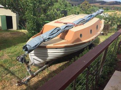 Custom - Gaff Rigged Ketch Trailer Sailer
