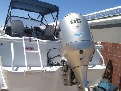 Quintrex 600 Ocean Sport Millinum hull