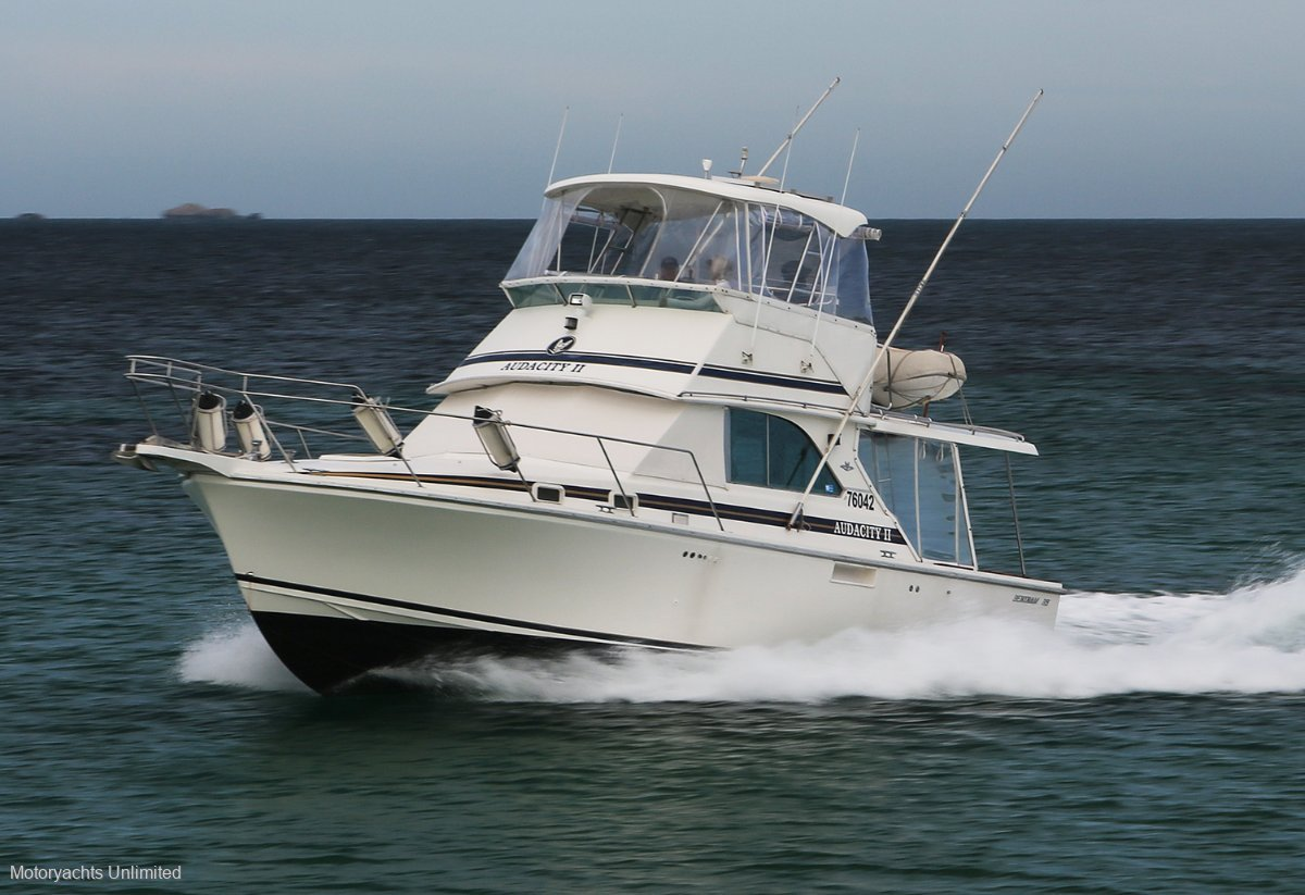 Bertram Caribbean 35 - The first of the Mk 3 improved layout hulls