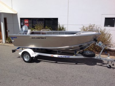 Savage 425 Osprey heavy duty dinghy package